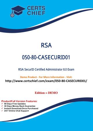 050-80-CASECURID01 Exam Certification Test