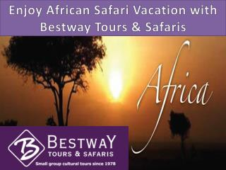 Enjoy African Safari Vacation with Bestway Tours & Safaris