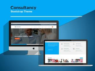 Best Bootstrap Business Consulting Web Template