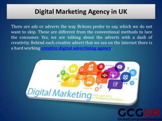 Digital Marketing Agency in UK