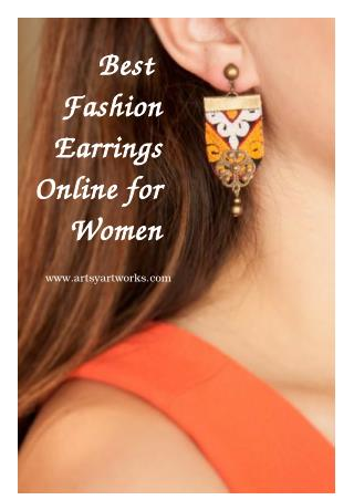 Best Fashion Earrings Online for Women