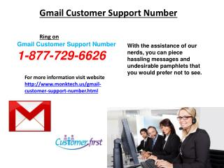 Gmail Customer Support Phone Number 1-877-729-6626 Remains Active 24 by 7