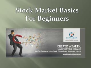 Stock Market Basics for Beginners | Share Market