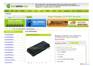 http://www.deal-battery.com/asus-x50n.html