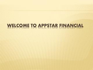 Appstar Financial Job ! Appstar Financial Career