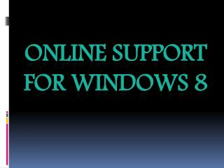 Windows-8 Technical Helpline Number 800-760-5113