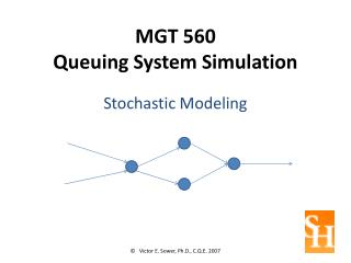 MGT 560 Queuing System Simulation