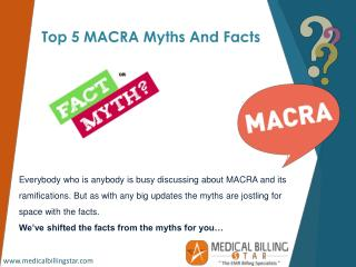 MACRA facts that every clinician should know