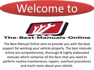 Service manual download