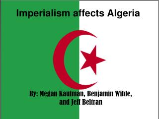 Imperialism affects Algeria
