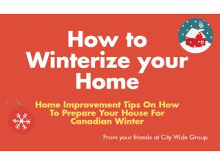 How to Winterize the House