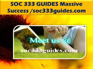 SOC 333 GUIDES Massive Success /soc333guides.com