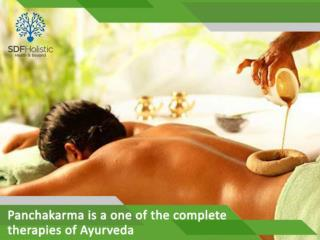 Panchakarma is a one of the complete therapies of Ayurveda