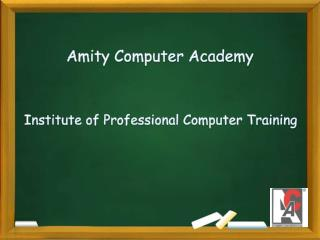 Institute of Professional Computer Training