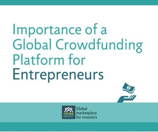 Importance of global crowdfunding for entrepreneurs