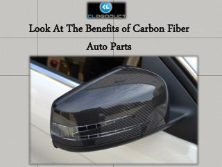 Look At The Benefits of Carbon Fiber Auto Parts