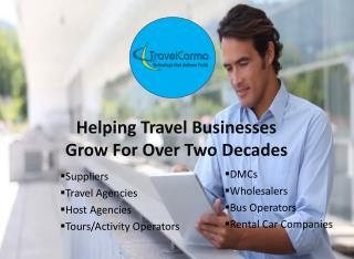 TravelCarma - Travel Technology that helps fuel the growth of the Travel Industry