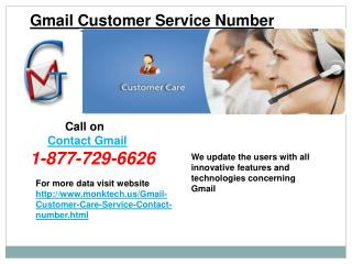 To Weep Out Gmail Glitches Call @1-877-729-6626 Gmail Contact Number