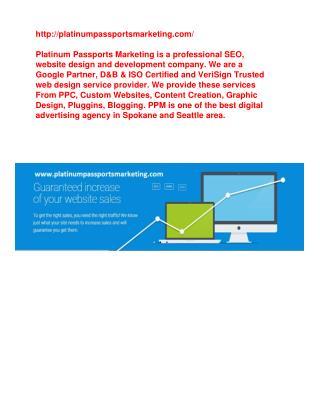 Spokane Web Design Services