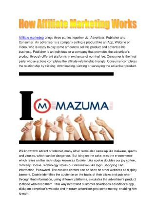 Affiliate Marketing Hongkong
