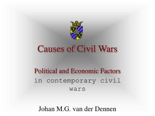Causes of Civil Wars