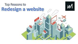 Top Reasons to Redesign a Website