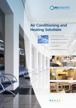 Air Conditioning and Heating Systems