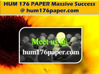 HUM 176 PAPER Massive Success @ hum176paper.com