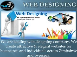 Thinkdebug provide the best Web Designing, Web Development and mobile app development Services in Zimbabwe.