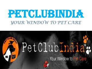 PetClubIndia Online Pet Shop