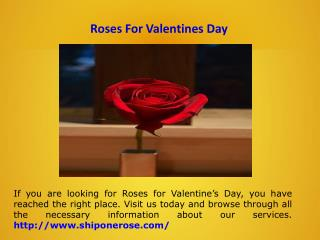 Send One Rose Online