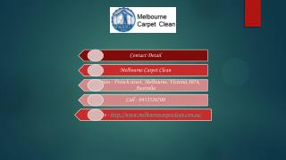 Hire Professional Carpet Cleaners in Melbourne for Carpet Steam Cleaning