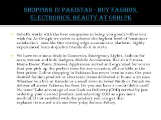 Buy Discount Items – Online Shopping Pakistan Store