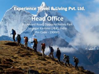 Experience Travel and Living Travel Agents in India