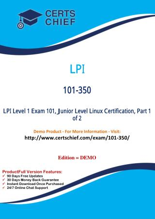 101-350 Certification Test Questions