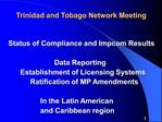 Trinidad and Tobago Network Meeting