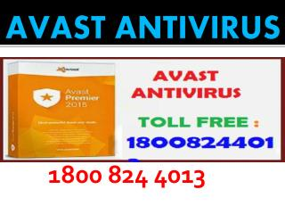 1800 824 4013 Avast Customer Support Number