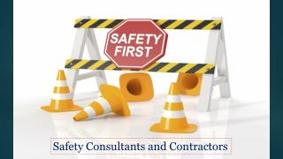 Safety Consultant and Contractors in UAE