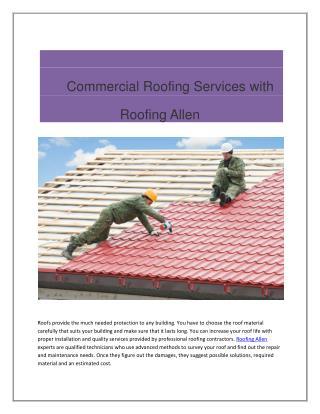 Roofing Allen