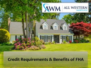 Easier to Qualify | Benefits of FHA Loans