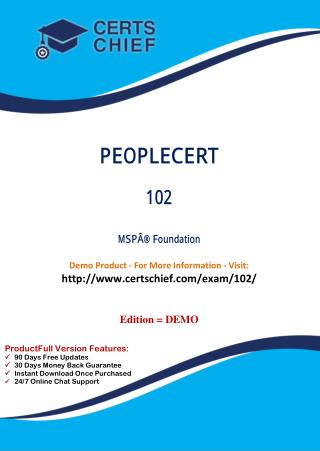 102 IT Certification Test Material