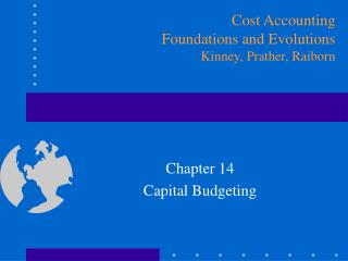 Chapter 14 Capital Budgeting