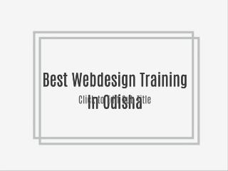 Best Software Training In Odisha