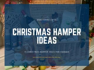Some Best Christmas Food Hamper Ideas