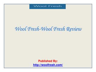 Wool Fresh-Wool Fresh Review
