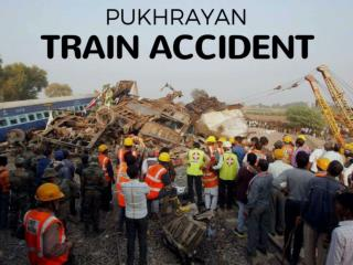 Pukhrayan train accident