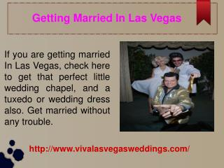 Las Vegas Wedding Packages All Inclusive