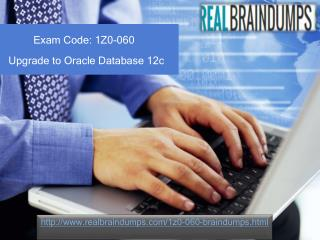 1z0-060 Real Exam Questions With Answers