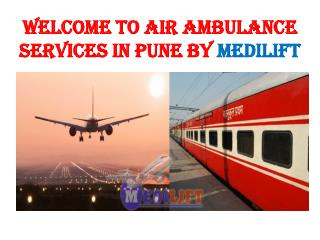 Air Ambulance Services in Pune and Vellore Presentation