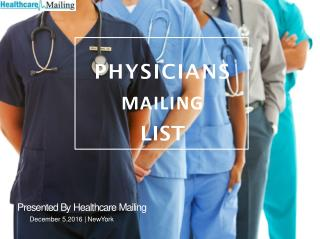 Physician mailing List